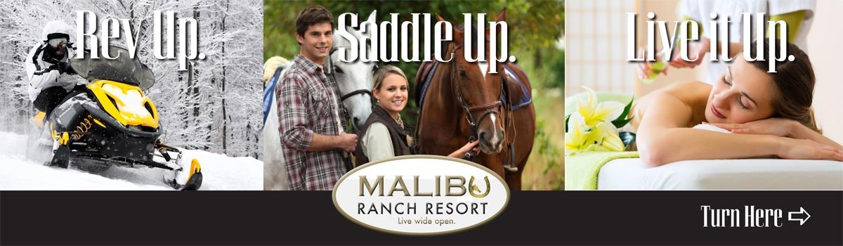 Malibu Ranch Resort Billboard